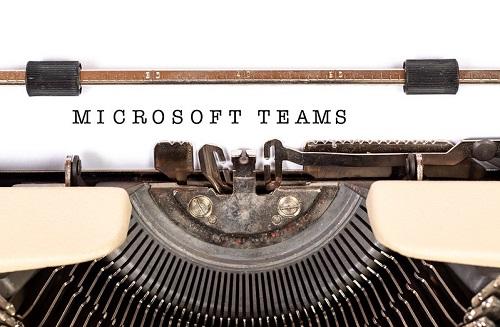microsoft ekipleri bir ekip oluşturur