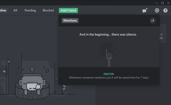 view discord messages