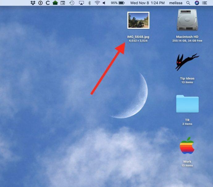 Photo on Desktop