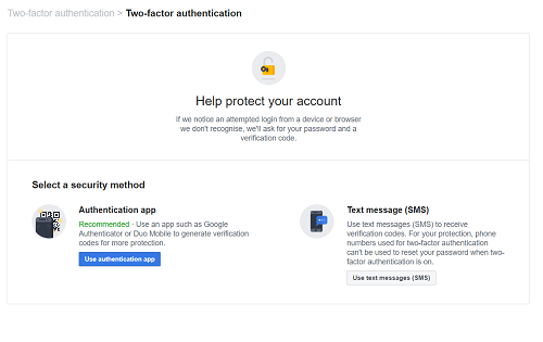help protect your account