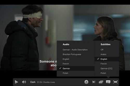 subtitles language change