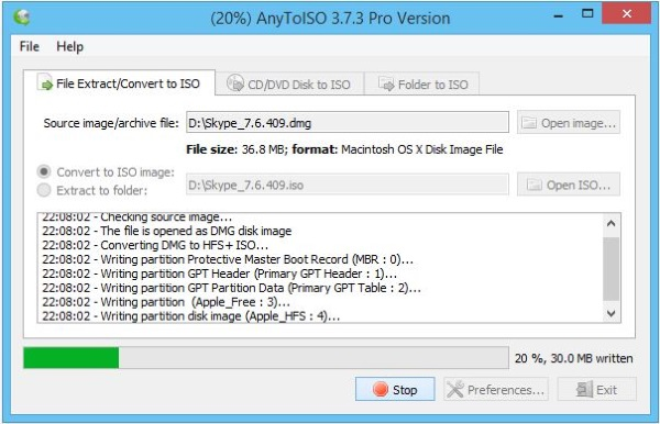 How to open a DMG file in Windows3