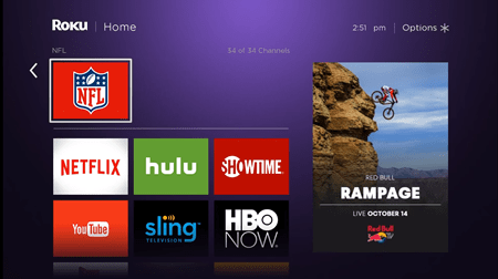 how to delete channel on roku