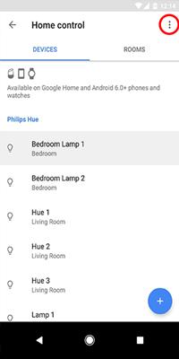 delete google home device