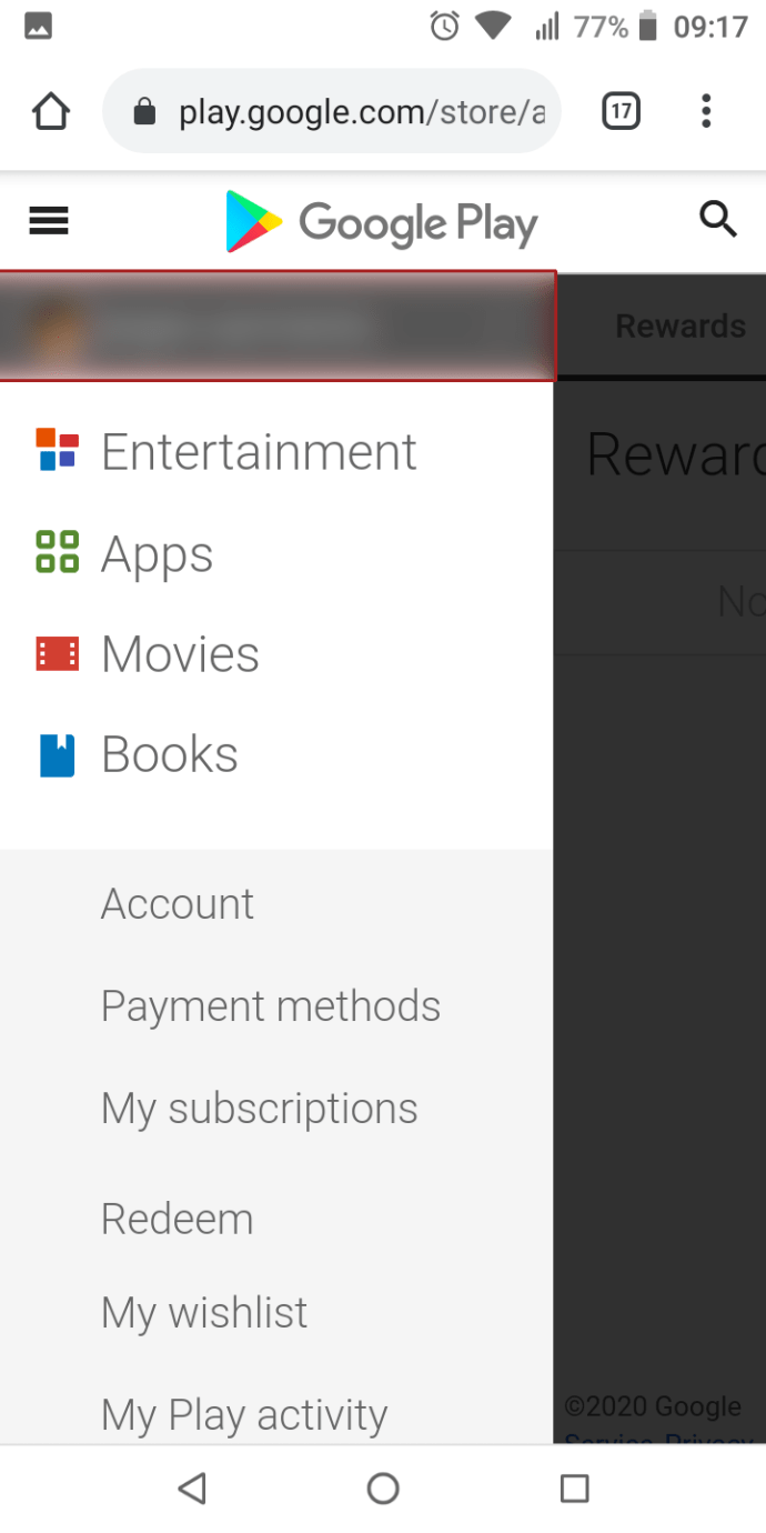 Google store www in play sign How to