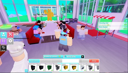 how to get more restaurant customer in roblox
