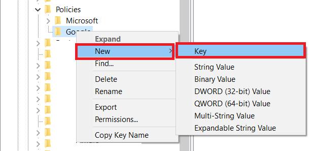 Windows Registry Key 2
