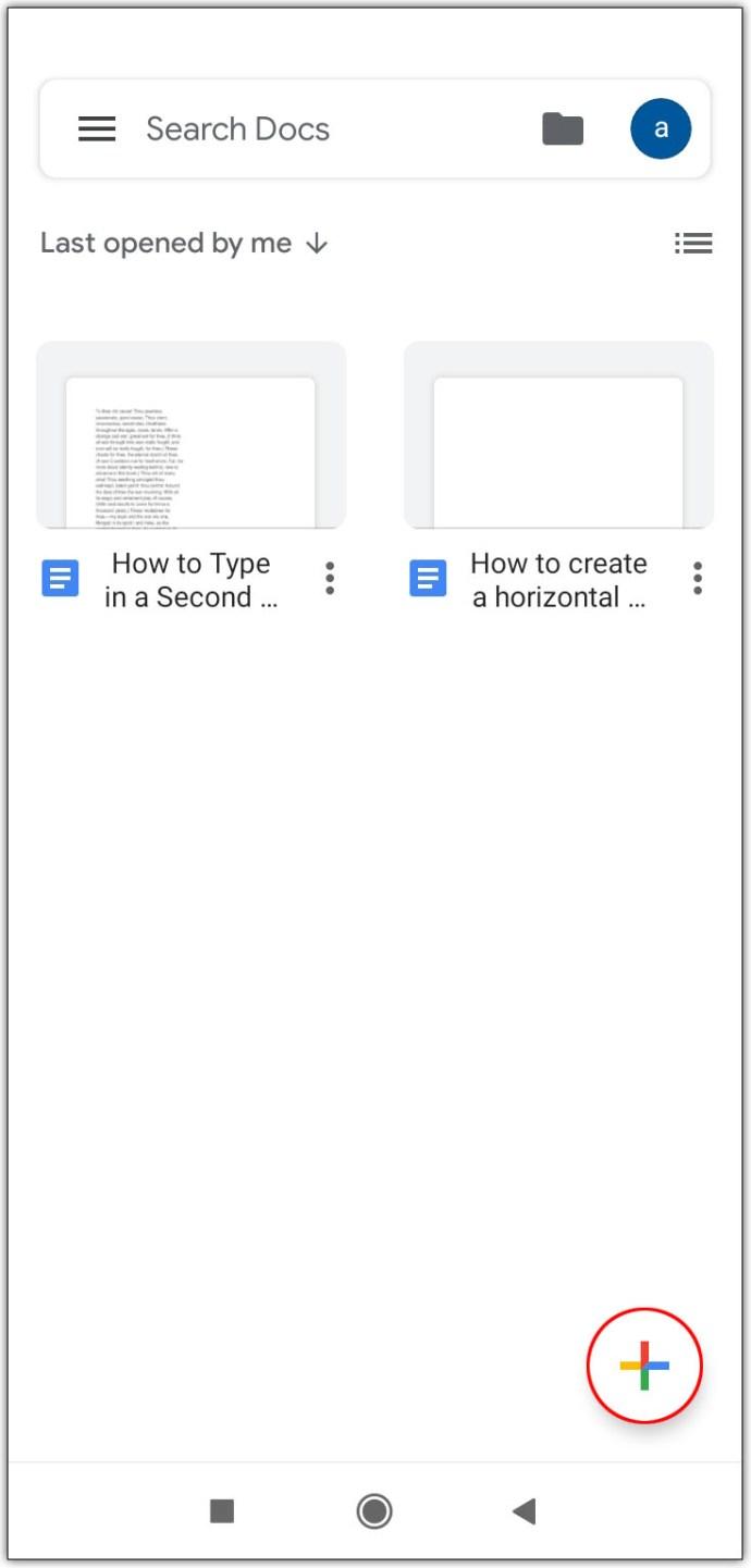 Cara Membuat 2 Kolom di Google Docs Hp Android