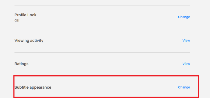 Configuración de Netflix