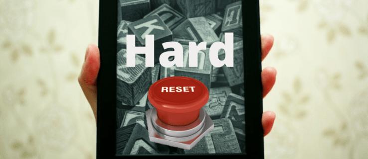 Cómo restablecer de fábrica una tableta Fire