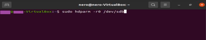 Linux terminal command