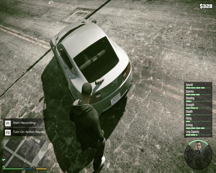 Detonate Sticky Bombs in GTA 5