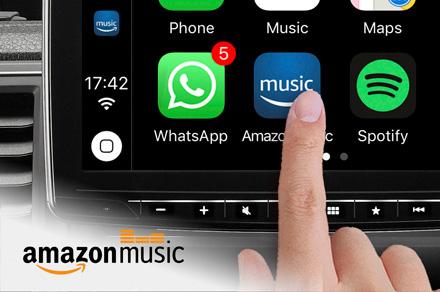 Alpine iLX-F903D - Amazon Music