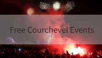 Free Courchevel Events