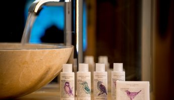 Green & Spring toiletries in all our chalet bathrooms