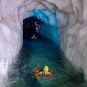 Eisschwimmen extrem - ein Schwimmerlebnis, das keiner von uns je vergessen wird