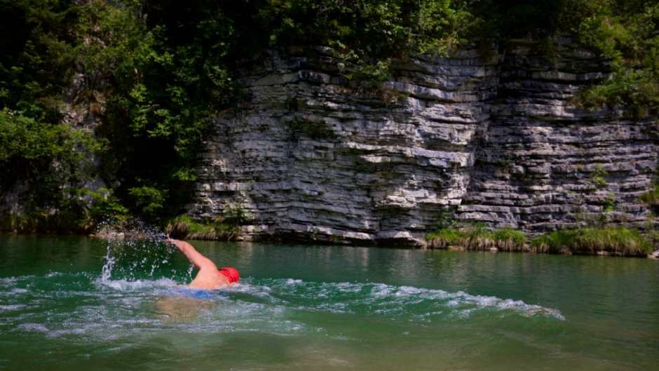 Perfect for a Wildswimming Quickie - Swimspot in the lower Wiestal