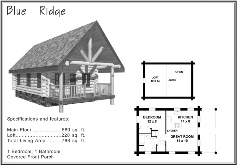 cabin plans under 1500 sq ft