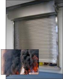 Smoke-Rated Shutters, Smoke Control Shutter Assembly