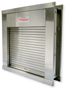 Security Gate Counter Service Shutters Integral Frame