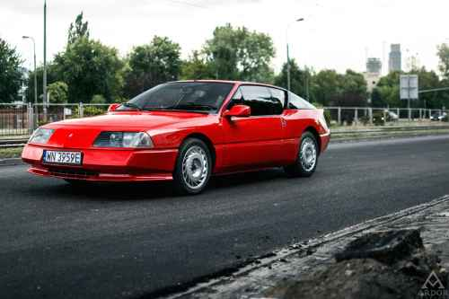 Alpine GTA Turbo de 1987 par Ardor Auctions