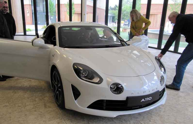 alpine A110 A610 A310 GTA RAOC UK ASAN 2017 - 11