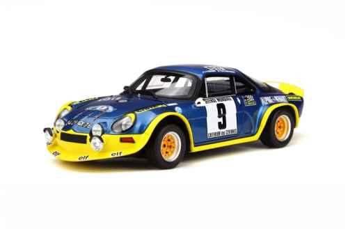 Sortie prochaine de l'Alpine A110 Turbo chez Otto !