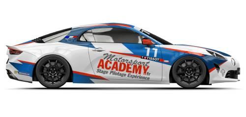 Deux nouvelles livrées à découvrir pour les Alpine A110 cup du team Racing Technology