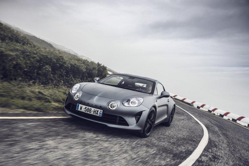 Les essais presse de la nouvelle Alpine A110S s'annoncent !