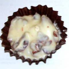 White Cranberry Almond Cups