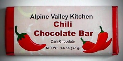 Chili Chocolate Bar