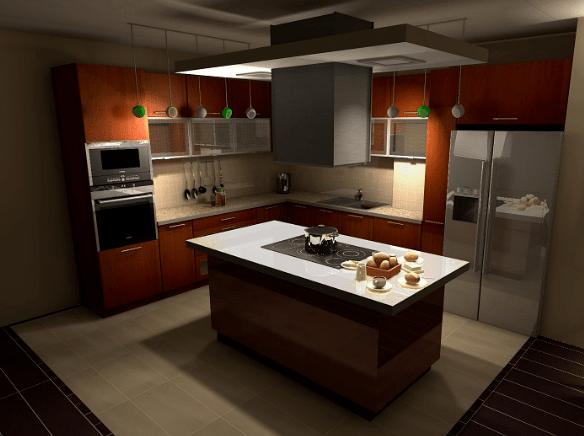 Modern Kitchen. High Tech Appliances