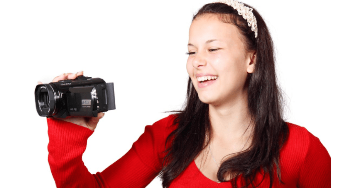 using a camcorder