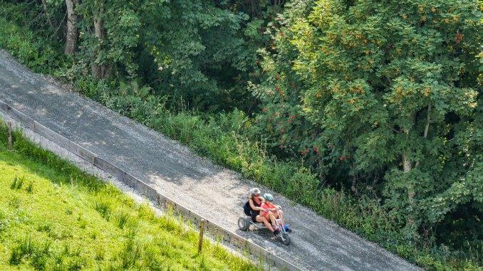 Mountaincarts sind immer beliebter - Sommer für Sommer. // Foto: alpintreff.de - Christian Schön