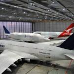 El descanso de tres gigantes de la aviación