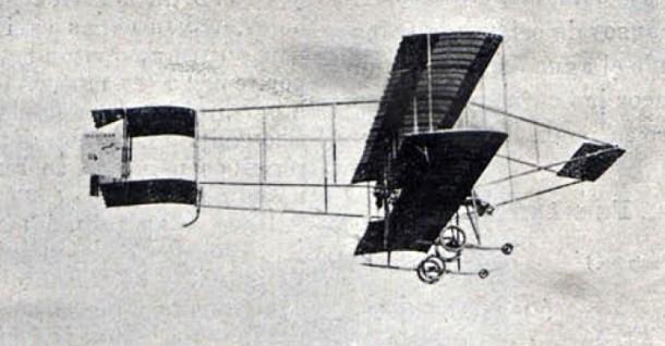 Aeroplano Farman de Loygorri.