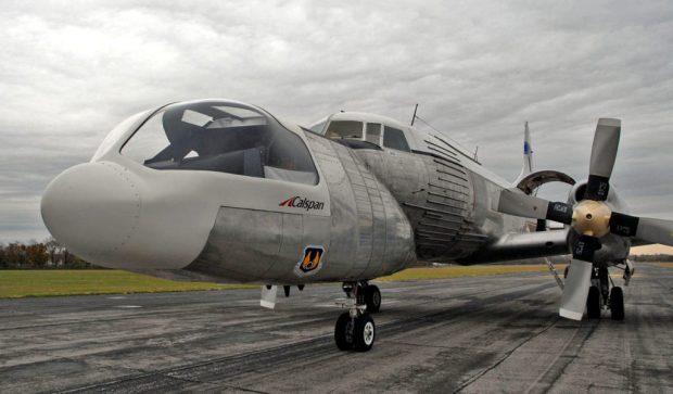 Todo un simulador de vuelo... que volaba. (USAF Museum).