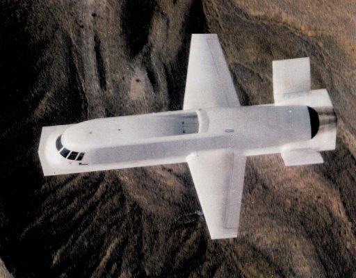 Dicen que es uno de los aviones más feos de la historia. Un aerotrastornado nunca dirá que un avión es feo. En este caso, estamos ante un raro pájaro que sirvió de demostrador de tecnologías furtivas a principios de los ochenta. (US DoD).