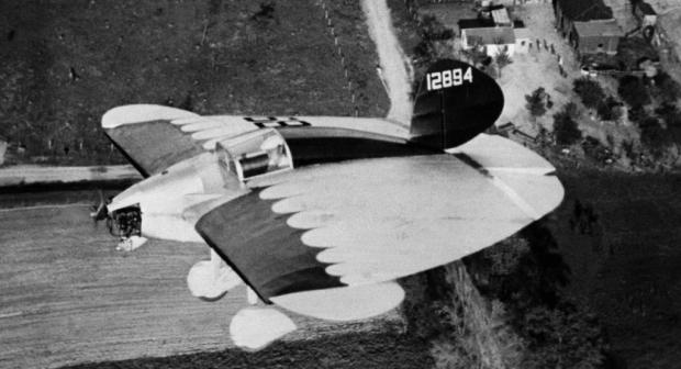 Uno de los intrépidos diseños de Cloyd Snyder, 1933. (NASA).