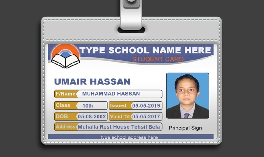 How to Design ID Card In Photoshop + PSD Free Download