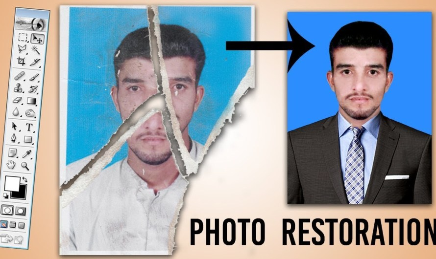 How to Repair Damaged Photo | Remove Scratches and Dust | Photoshop Tutorial