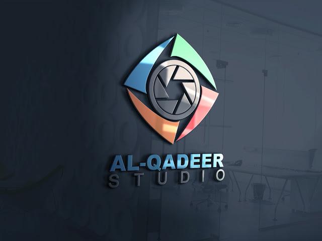 Free Download logo mockup templates for photoshop in PSD file | Al Qadeer Studio