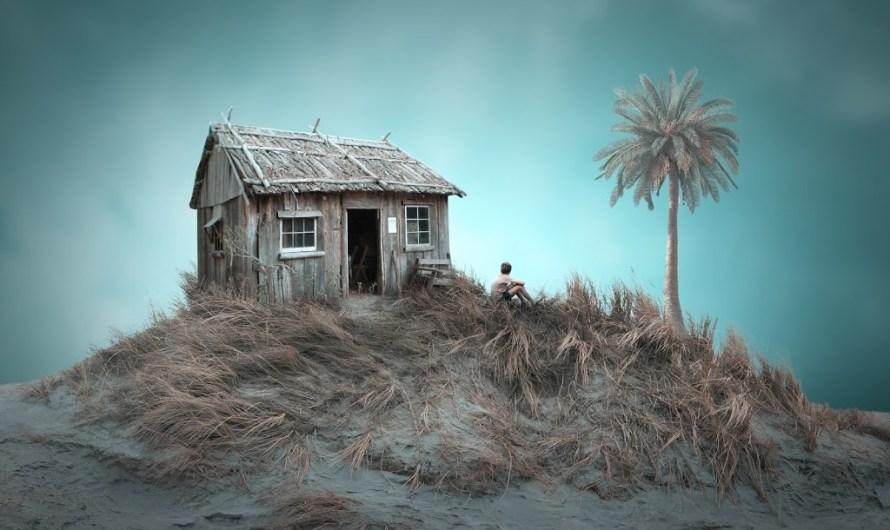 Alone –  Photoshop Manipulation Tutorial