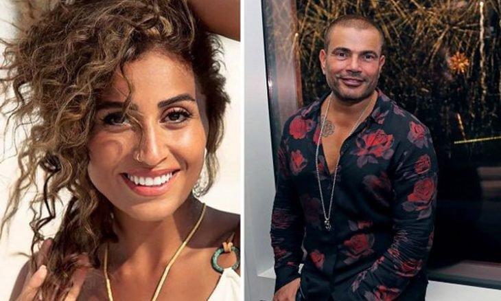 دينا الشربيني تكشف رأي عمرو دياب في مسلسل زي الشمس فيديو