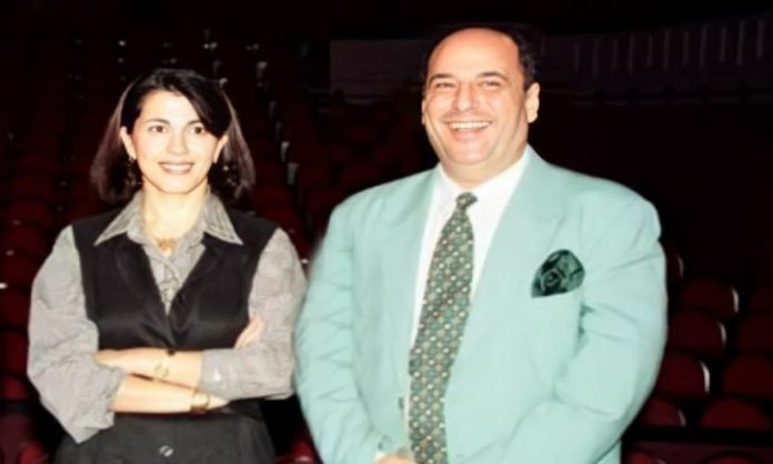 Magda Al-Roumi mourns the composer of her most prominent songs, musician Jamal Salama- (Tweet)
