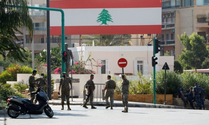 What is behind the redeployment of the Lebanese army units in the suburb and a number of areas?