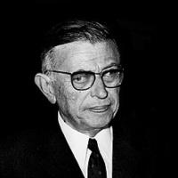 Jean Paul Sartre escritor y filósofo francés