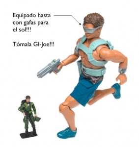 Max steel vs GI Joe