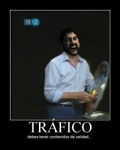 Poster tráfico en blogs