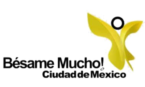 Logotipo 2: Ciudad de México con cosa amarilla rara